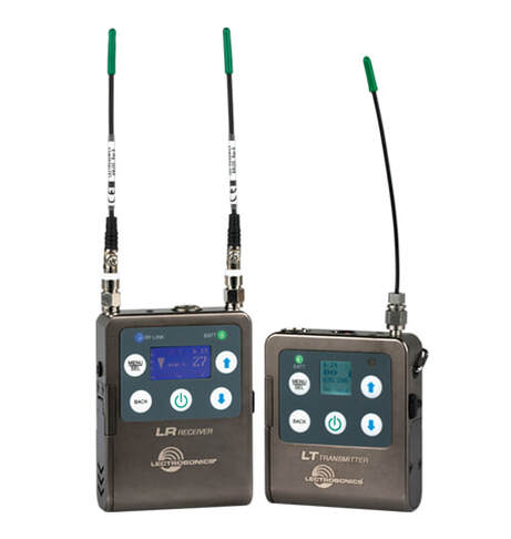 Lectrosonics L series Wireless Microphone hire